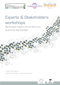 German Stakeholder Consultation Report - pdf fie